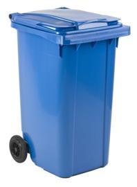 Mini-container 240 ltr blauw