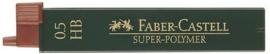 FABER-CASTELL potloodstiften 0,5 mm 2B Super-Polymer koker