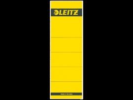 Rugetiket Leitz zelfklevend 1642 58X190MM 10 stuks geel