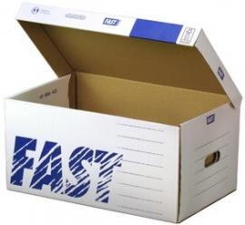Fast Archief box met klep 520 x 250 x 350 mm