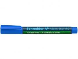 Whiteboardmarker Schneider Maxx Eco 110 navulbaar ronde punt 1-3 mm blauw