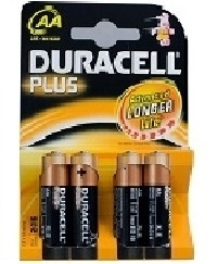 Duracell Plus Power AA Blister 4