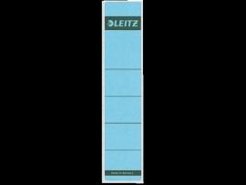 Rugetiket Leitz zelfklevend 1643 38X190MM 10 stuks blauw