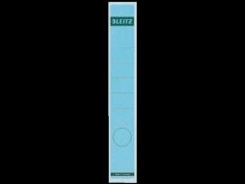 Rugetiket Leitz zelfklevend 1648 38X290MM 10 stuks blauw