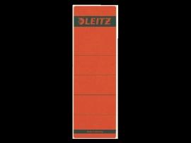 Rugetiket Leitz zelfklevend 1642 58X190MM 10 stuks rood