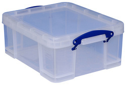 Really Useful Box  21 Liter, transparant  (B)450 x (T)350 x (H)200 mm