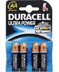 Duracell Ultra Power AA Blister 4