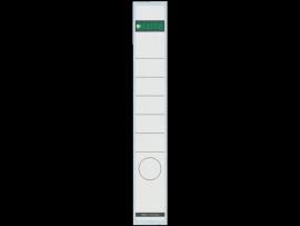 Rugetiket Leitz zelfklevend 1648 38X290MM 10 stuks wit