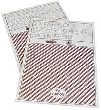 CANSON-tekenblok, DIN A4, zeer transparant, 80/85 gram  50 vel