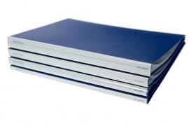 Showalbum A4 10 tassen blauw