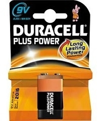 Duracell Plus Power 9V Blister 1
