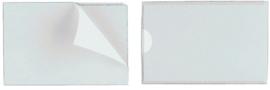 Durable, zelfklevende hoezen POCKETFIX, (B) 74 x (H) 43 mm 10 st.