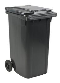 Mini-container 240 ltr grijs
