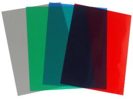 Pavo ass. Transparante PVC omslag A4 200 micron 100 stuks