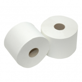 Toiletpapier Compactrol 1 laags luxe Crepe 24 x 150 mtr