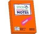 Memoblok Stick'n 76x51mm neon oranje