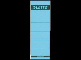 Rugetiket Leitz zelfklevend 1642 58X190MM 10 stuks blauw