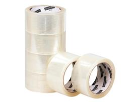 Verpakkingstape Smartboxpro 50mmX60m PP NO NOISE transparant