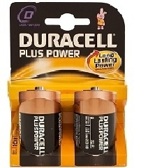 Duracell Plus Power D Blister 2