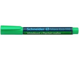 Whiteboardmarker Schneider Maxx Eco 110 navulbaar ronde punt 1-3 mm groen
