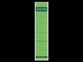 Rugetiket Leitz zelfklevend 1643 38X190MM 10 stuks groen