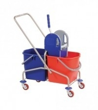 Rol emmer duo 25 ltr + pers