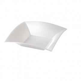 Depa Bord, vierkant, diepbord, PP, 180x180mm. wit. 25 st.