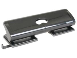 Perforator Quantore 4-gaats 20vel zwart