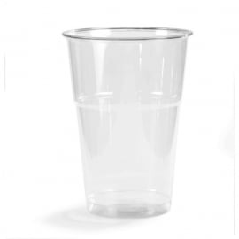 Glas, bierglas, PET, 300ml, 125mm.glashelder. 120 st.