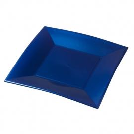 Depa Bord, vierkant, PP, 290x290mm. blauw. 12 st.