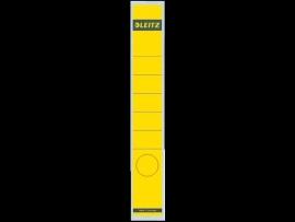 Rugetiket Leitz zelfklevend 1648 38X290MM 10 stuks geel