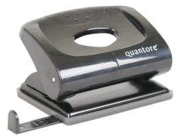 Perforator Quantore 2-gaats 20vel zwart