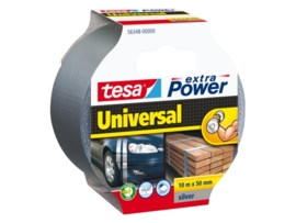 Plakband TESA 56348 50mmX10m klus zilver