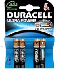 Duracell Ultra Power AAA Blister 4
