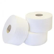Toiletpapier Mini jumbo cellulose 2 laags 12 x 180 m Eco