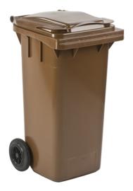 Mini-container 120 ltr bruin