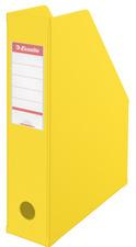 Esselte tijdschriftcasette  VIVIDA A4, PVC, geel, 70 mm