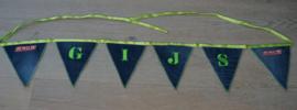 Vlaggenlijn met naam