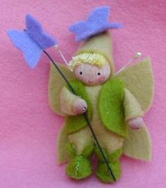 Vlinderelfje - lila