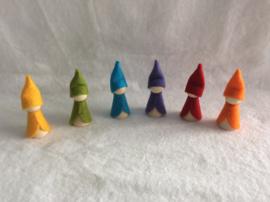 Regenboog kabouters