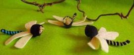 Drie libelles