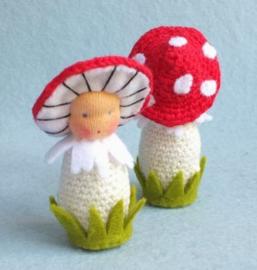 Gehaakte paddenstoel