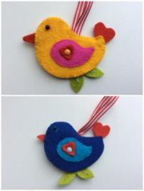 Love birds - sleutelhanger