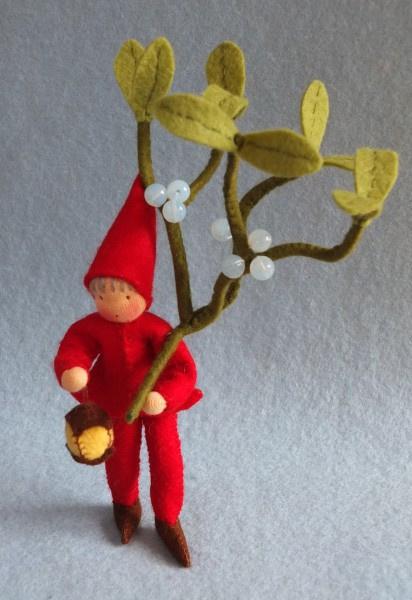 Kabouter met Mistletoe