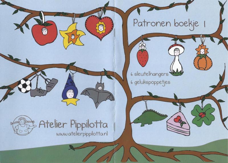 Patronen boekje deel 1 - Atelier Pippilotta
