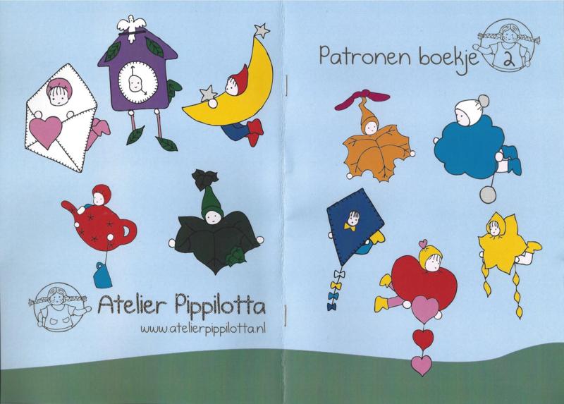 Patronen boekje deel 2 - Atelier Pippilotta
