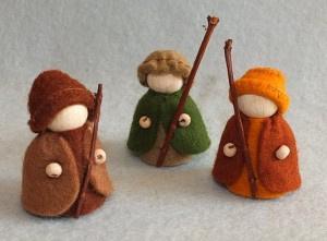 Drie herders