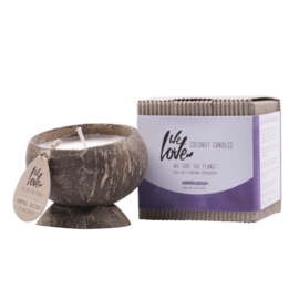 WE LOVE THE PLANET - Coconut candle Charming Chestnut