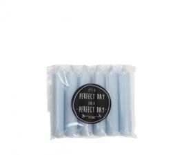 RUSTIK LYS - Cadeau dinerkaars chalk blue