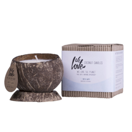 WE LOVE THE PLANET - Coconut candle Arctic White (New)